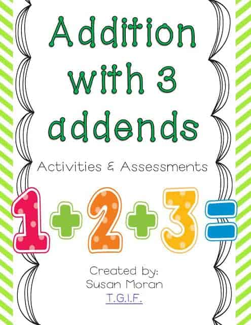 Addition Worksheets 3 Addends Worksheets for all | Download and ...