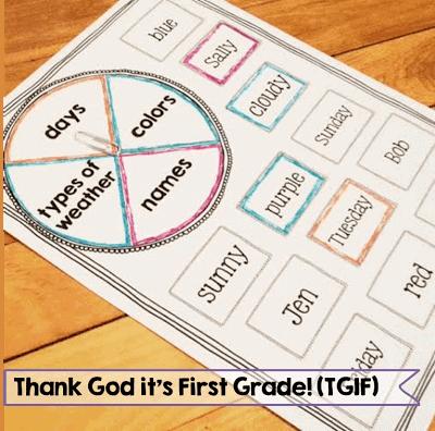 http://www.teacherspayteachers.com/Product/First-Grade-Common-Core-Language-Activities-Printables-Part-Two-979016