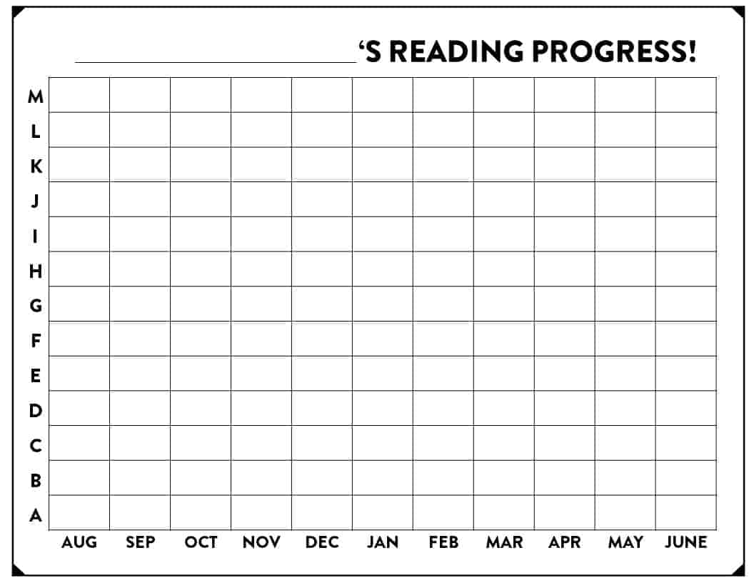 Tracking Our Reading Growth in 1st Grade! - Susan Jones