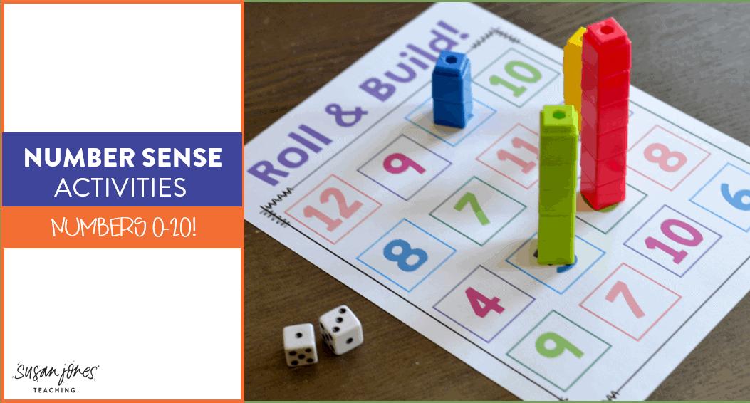 Building Number Sense In Kindergarten And First Grade Susan Jones
