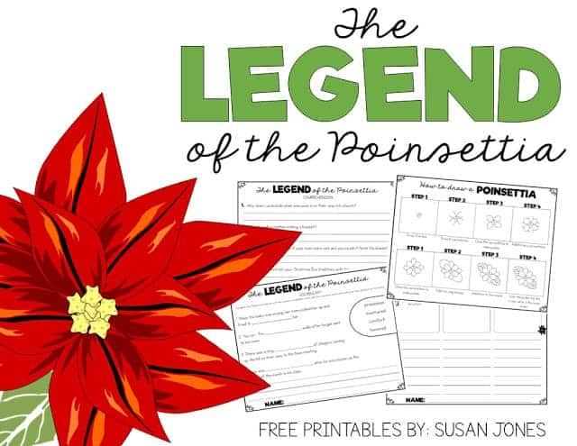 photograph about The Legend of the Poinsettia Printable Story called Free of charge Legend of the Poinsettia Routines! - Susan Jones