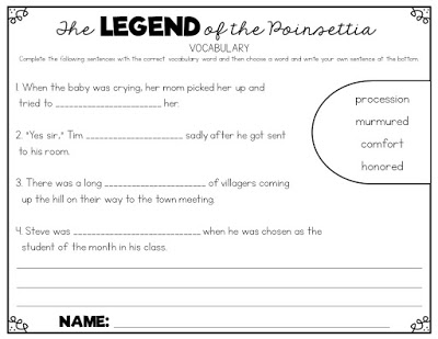 graphic relating to The Legend of the Poinsettia Printable Story identified as Cost-free Legend of the Poinsettia Routines! - Susan Jones