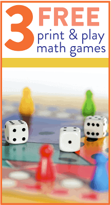 Want some more print and play math games to use in your classroom right away? Head on over to the post to grab 3 new games aligned to first grade math standards!