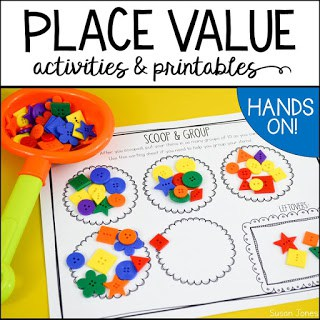 image regarding Place Value Games Printable referred to as Area Expense Actions! - Susan Jones