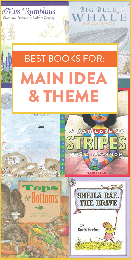 These are some of my FAVORITE picture books to teach main idea and theme. I use these read alouds in a first and second grade classroom, so head on over to the post fo more details about how I use each book!