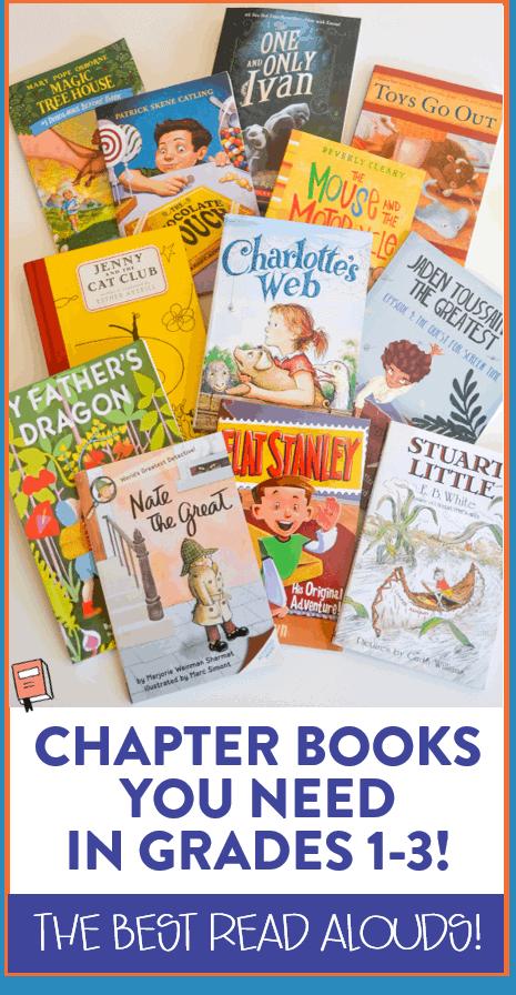 Read Aloud Third Grade Chapter Books