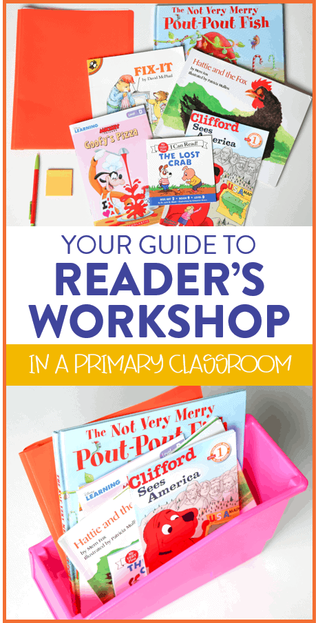 Are you just getting started with readers workshop in your primary classroom? Here is your ultimate guide to launching and teaching the reading workshop method in your first or second grade classroom. This post includes all the benefits of reader's workshop and even shows you where to get a year's worth of detailed lessons, anchor charts, books suggestions, and more! Head on over to the post to see more.
