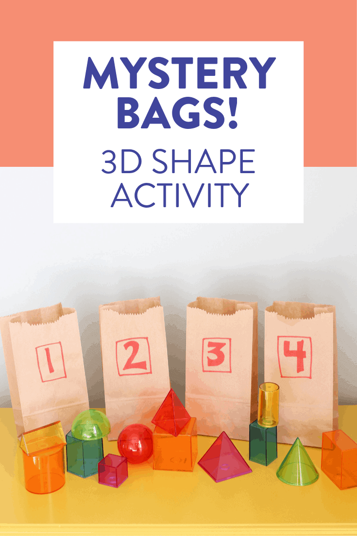 This hands on 3D shape activity is one of my favorites to play in first and second grade after students have learned all about the attributes of these solid shapes. Head on over to the post to learn how to play and grab the FREE recording sheet!