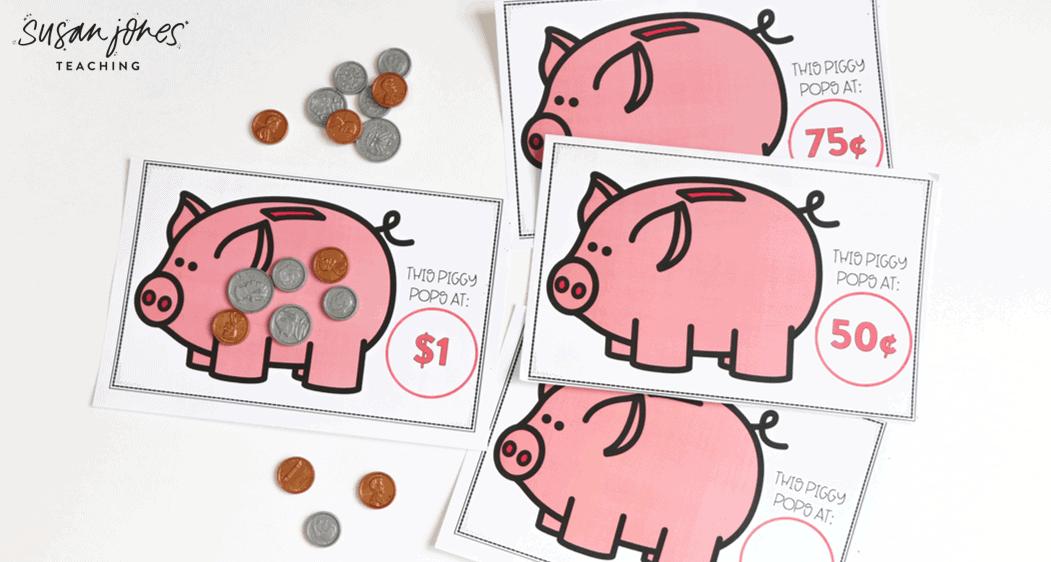 Free Money Game For First Grade Susan Jones