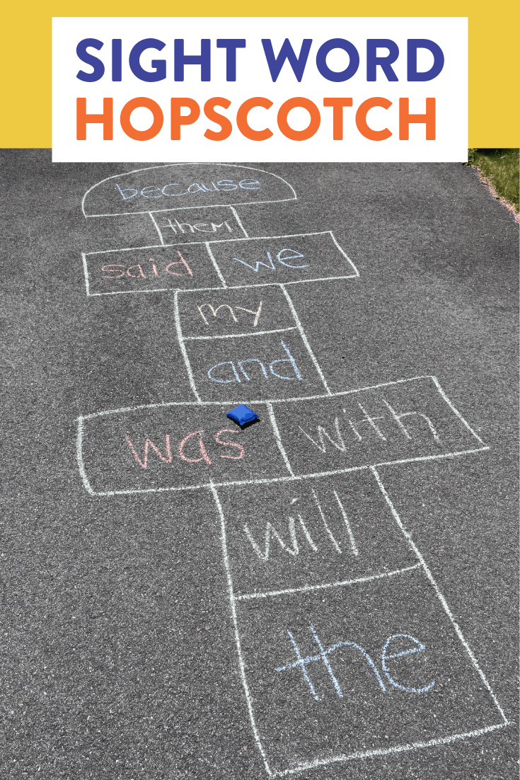 Sight word hopscotch is such a fun and easy way to have students practice their sight words! Head over to the post to watch a quick video and learn how to play.
