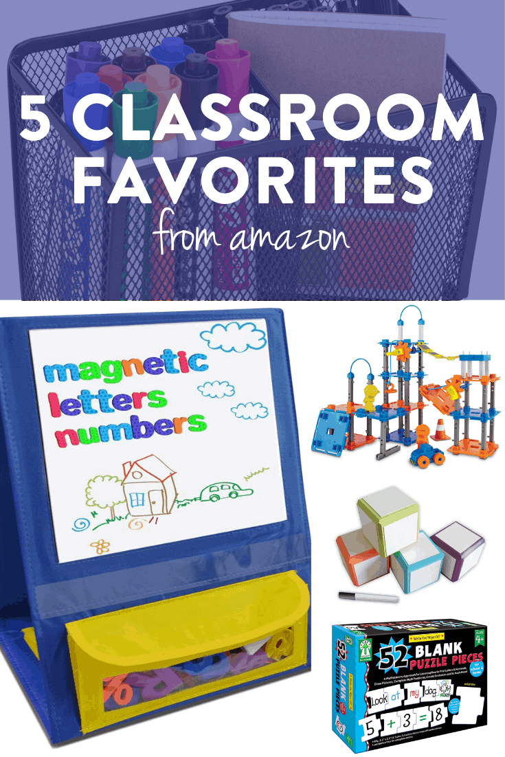 These Amazon must haves for the classroom are some of my current favorite tools and toys for the classroom! Head on over to the post to read how I use each one and why I love it for a primary classroom!