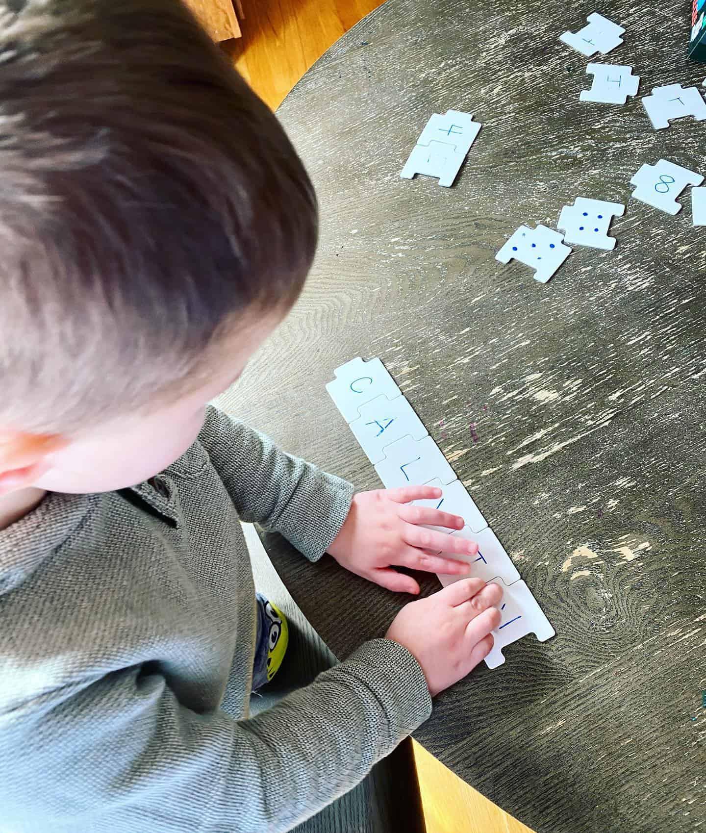 dry erase puzzle pieces
