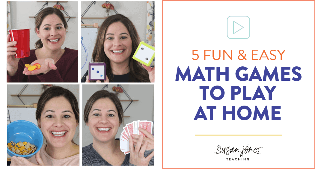 5 Easy And Fun Math Games To Play At Home Susan Jones