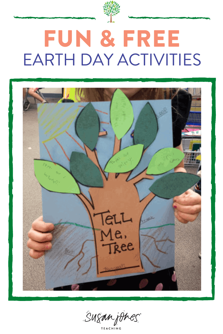 Grab this free craft and see some other ideas and activities for students to celebrate Earth Day at home or in the classroom!