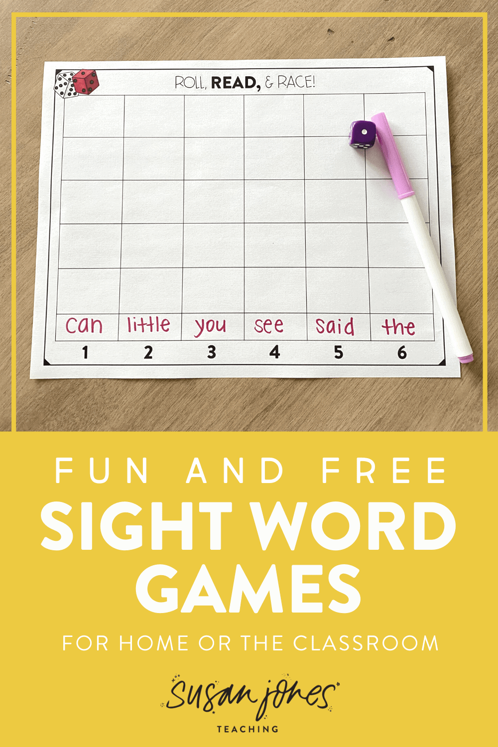 Looking for a new sight word activity instead of just flash cards?! I love all three of these sight word activities to play at home or in the classroom. They're easy to learn and fun for kindergarten, first grade, and second grade students! Head over to the post to grab the sight word worksheets and see how to play each game!