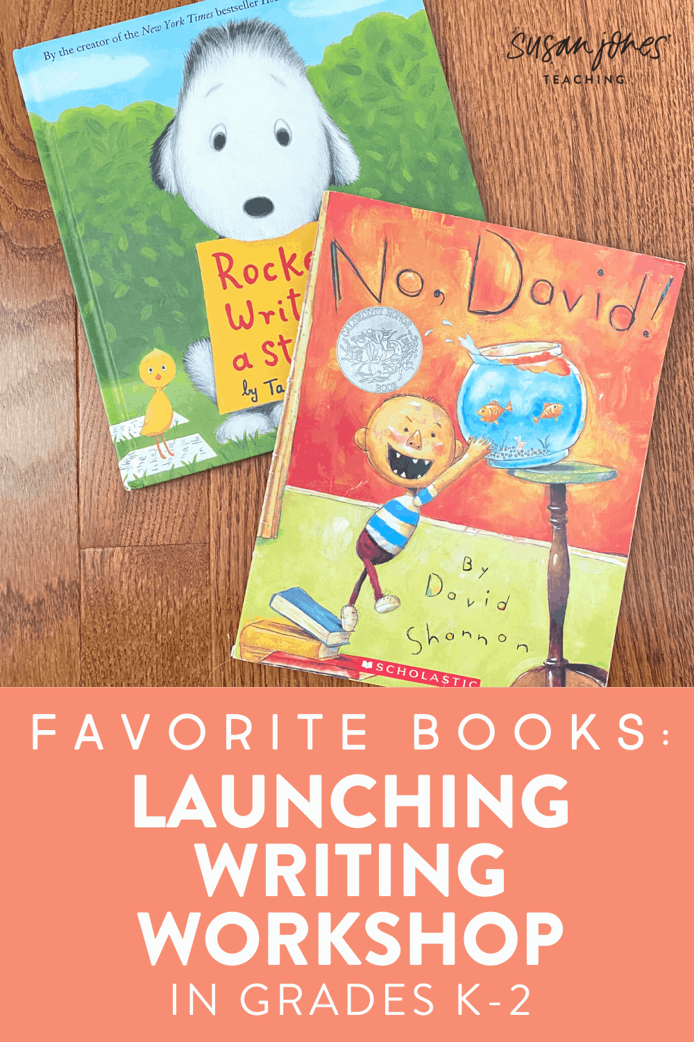 See two of my favorite books for launching writing workshop and how I use them in a K-2 classroom. Head on over to the blog post to grab a free writing activity to use with Rocket Writes a Story which will encourage your kindergarten, first grade, and second grade students to believe that they are all writers and start their writing journey at the beginning of the year!