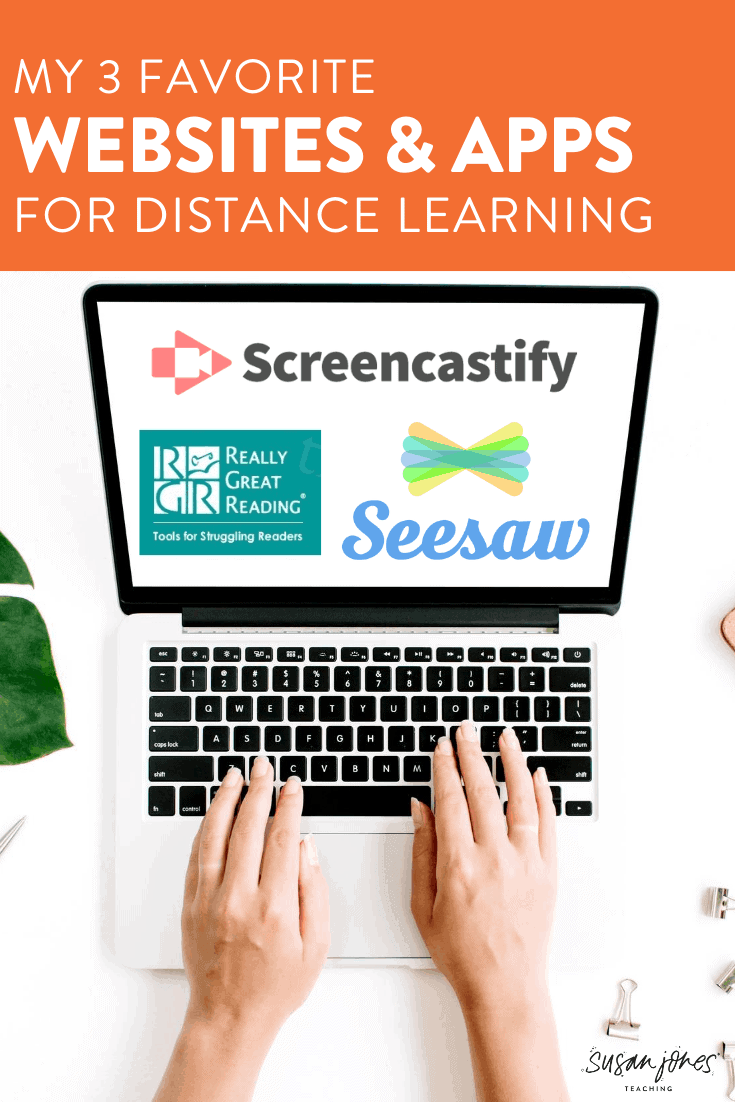 Head on over to this blog post to read about my 3 favorite websites to use during distance learning. I like all three of these sites for different reasons, so check out the post and let us know what distance learning tools you've been using!