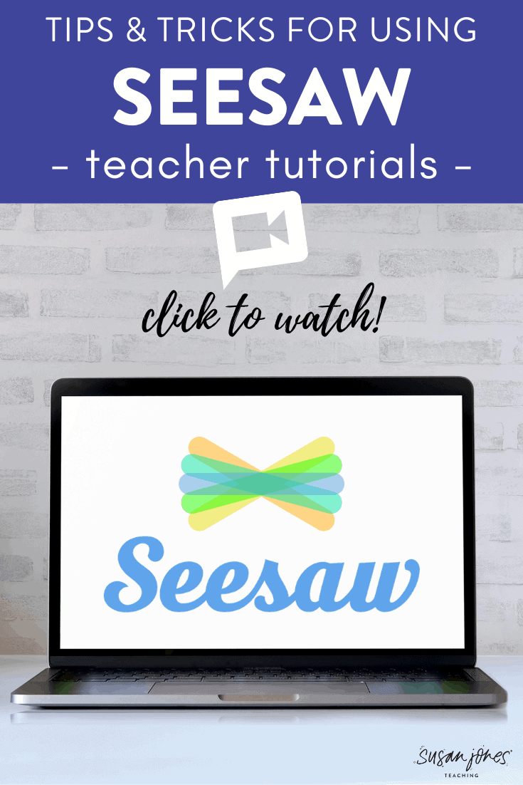 Are you using Seesaw for distance learning or in the classroom? This post has some very helpful Seesaw tutorials for teachers to watch. They show how to make lessons in Seesaw and how to organize all the content within the Seesaw platform! Just click over to watch..