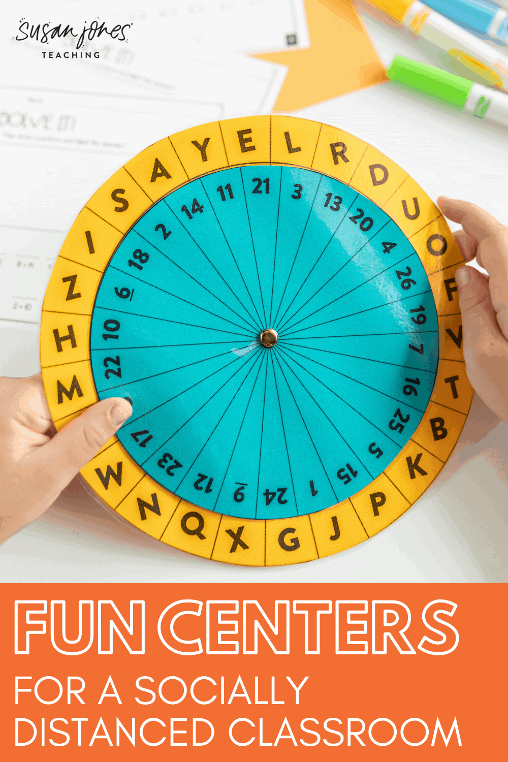 Setting up a socially distanced classroom? Here are some tips for how to run centers in a K-2 classroom and some ideas for fun individual centers to use!