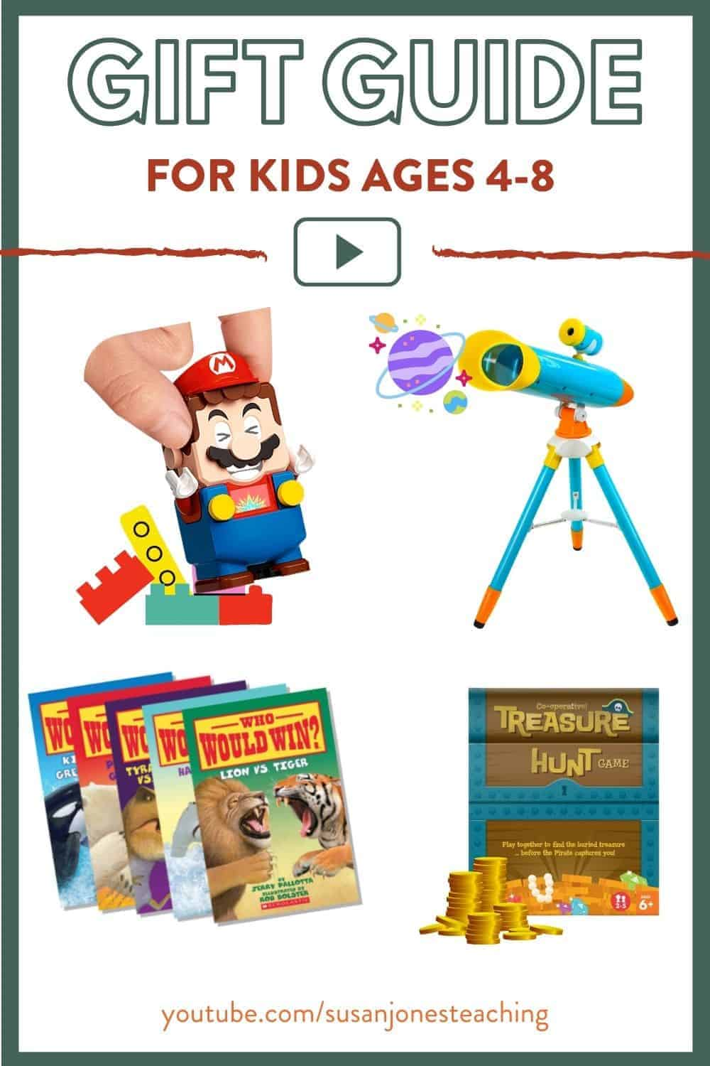 Wondering what gifts to buy young kids in 2020?! I made a gift guide just for you with 6 of my FAVORITE gifts for kids this year! Head on over to the blog post to see more about each one!