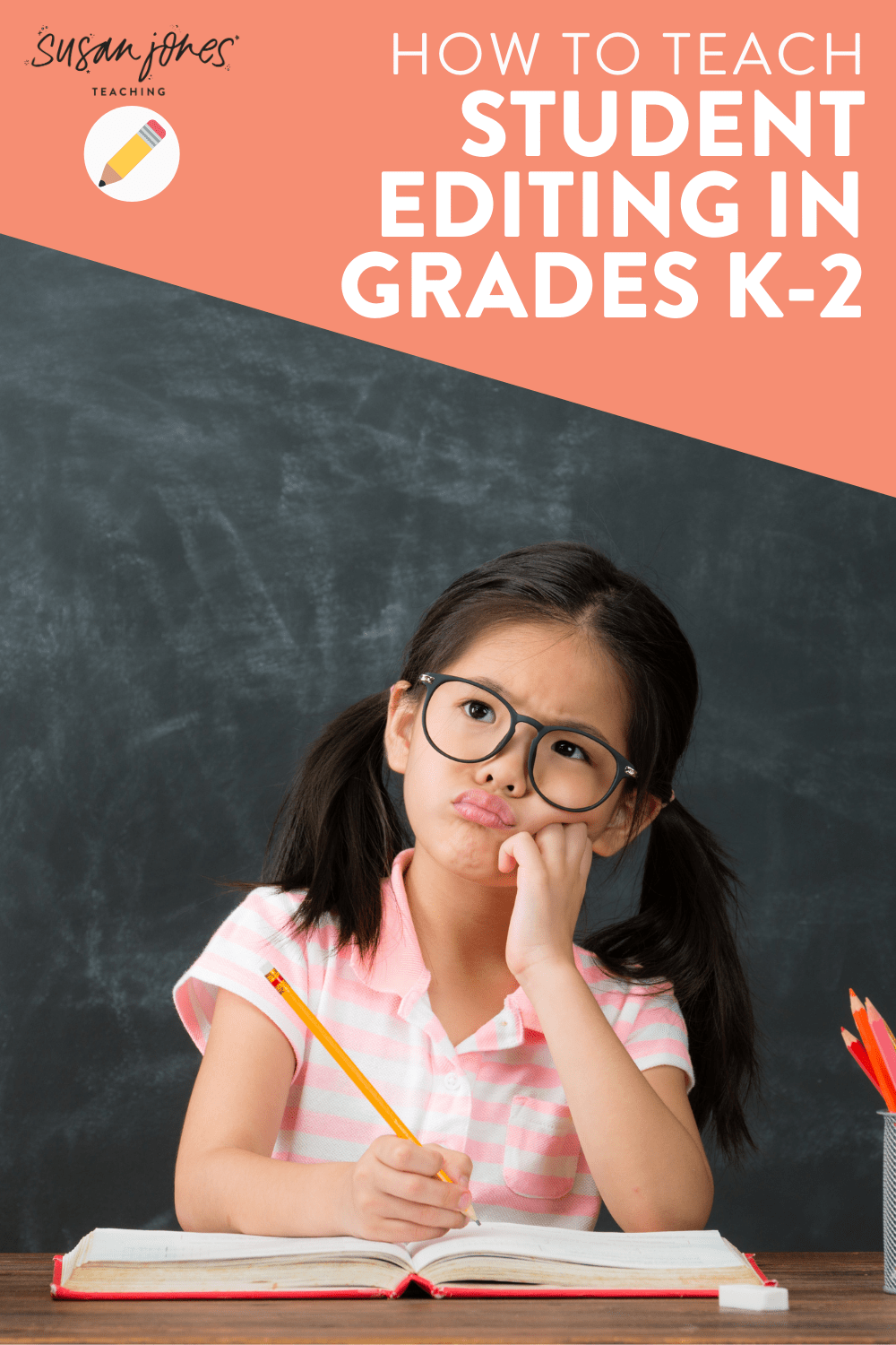Wondering how to teach students to edit their own writing in grades K-2?! This blog post walks through some tips for teaching editing to students using editing checklists, partner editing, and sample passages!